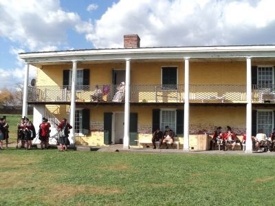 Officers' Quarters at Fort Mifflin image. Click for full size.