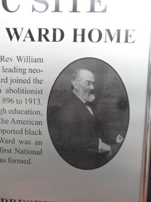 William Hayes Ward Home Marker image. Click for full size.