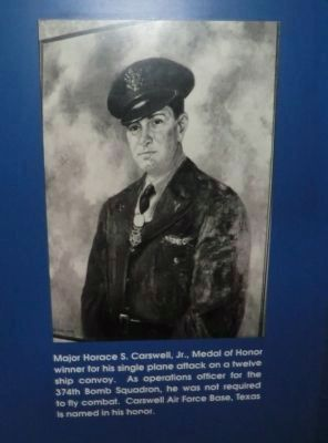 Horace Carswell Jr., Medal of Honor Recipient image. Click for full size.