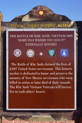 The Battle of Khe Sanh Vietnam, 1968 Marker image. Click for full size.