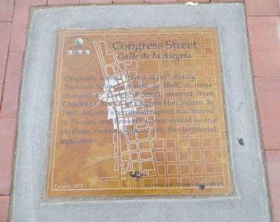 Congress Street Marker image. Click for full size.