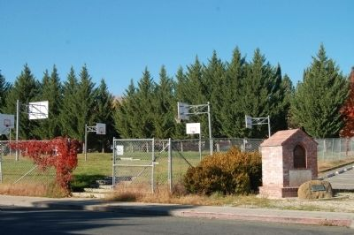 Siskiyou County High School Marker image. Click for full size.