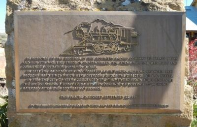 Yreka Western Marker image. Click for full size.
