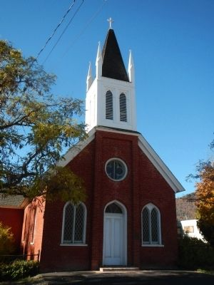 Church in Hawkinsville image. Click for full size.