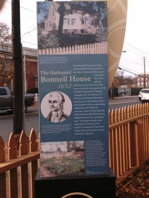 The Nathaniel Bonnell House 1682 Marker image. Click for full size.