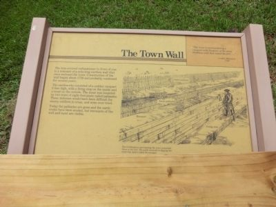 The Town Wall Marker image. Click for full size.