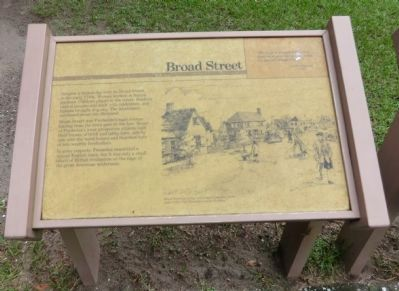Broad Street Marker image. Click for full size.