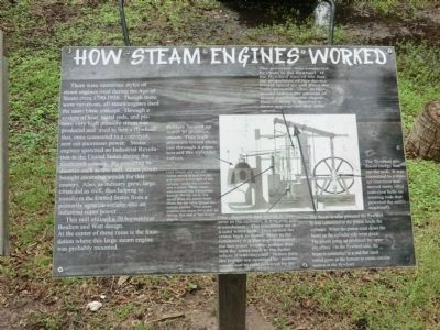 How Steam Engines Worked Marker image. Click for full size.