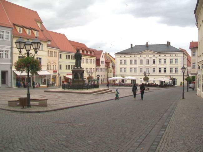 Martin Luther Statue on Market Square image. Click for full size.