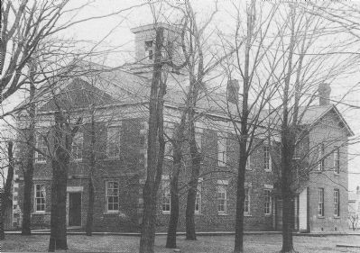 Wilson Collegiate Institute built 1845. image. Click for full size.