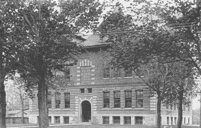 Wilson Union Free School Built 1900 image. Click for full size.