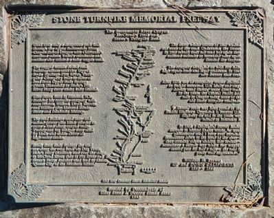 Stone Turnpike Memorial Freeway Marker image. Click for full size.
