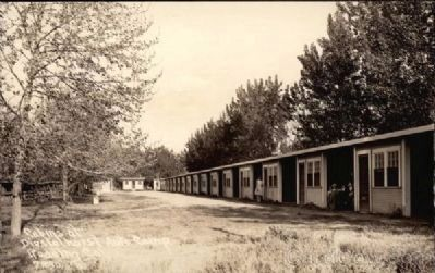 Diestelhorst Auto Camp, c. 1930s image. Click for full size.