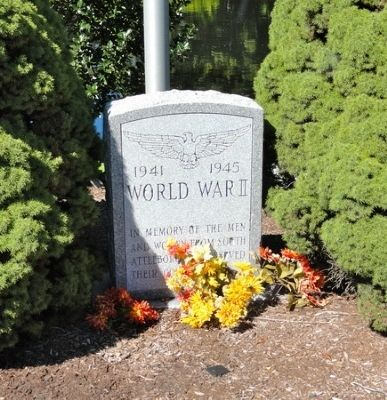World War II Marker image. Click for full size.