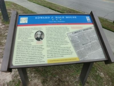 Edward J. Hale House Marker image. Click for full size.