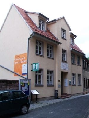 Luthers Schule / Luther' School and Marker image. Click for full size.