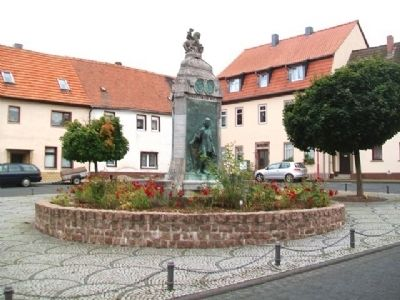 Luther Fountain / Lutherbrunnen image. Click for full size.