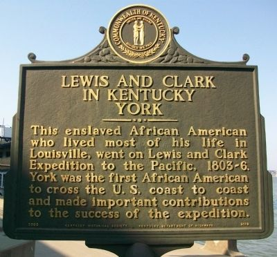 Lewis and Clark in Kentucky Marker image. Click for full size.