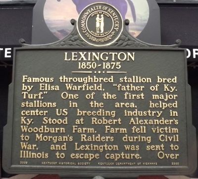 Lexington Marker (Obverse) image. Click for full size.