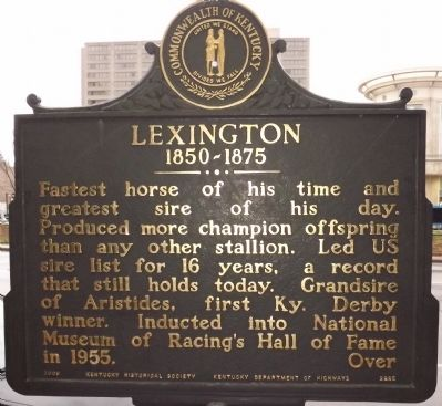 Lexington Marker (Reverse) image. Click for full size.