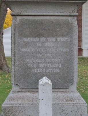 Ness Cemetery State Monument image. Click for full size.