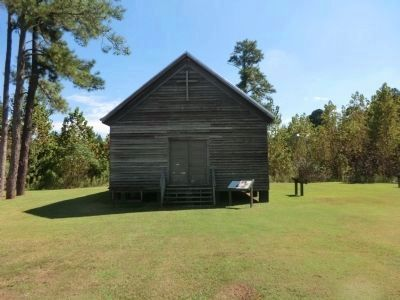 New Beaverdam Primitive Baptist Church image. Click for full size.