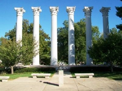 Westminster College Columns image. Click for full size.