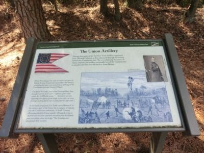 The Union Artillery Marker image. Click for full size.
