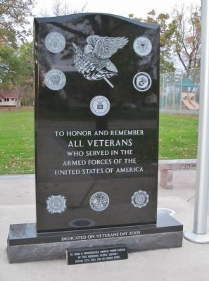Dassel Area Veterans Memorial image. Click for full size.