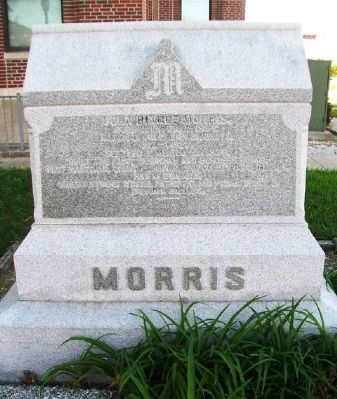 John Bingle Morris Marker image. Click for full size.