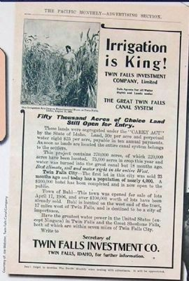 Irrigation is King! image. Click for full size.