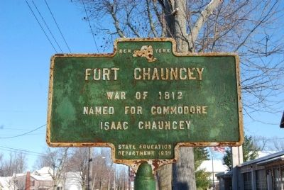 Fort Chauncey Marker image. Click for full size.