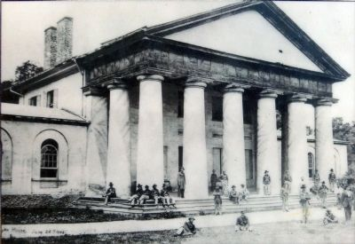 Arlington House, June 28th 1864 image. Click for full size.