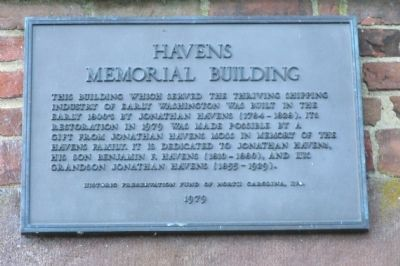 Havens Memorial Building Marker image. Click for full size.
