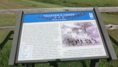 Tranter's Creek Marker image. Click for full size.