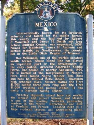 Mexico Marker (Side A) image. Click for full size.