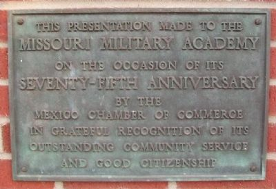 Missouri Military Academy Marker image. Click for full size.
