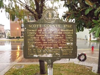 Scott County, 1792 Marker image. Click for full size.