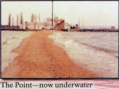 The Point -- now underwater image. Click for full size.