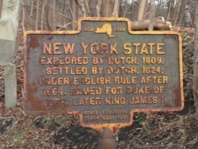 New York State Marker image. Click for full size.