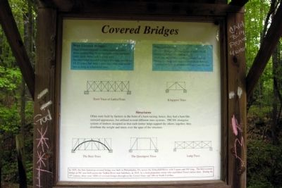 Covered Bridges Marker image. Click for full size.