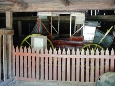 Coyle-Foster Barn exhibit image. Click for full size.