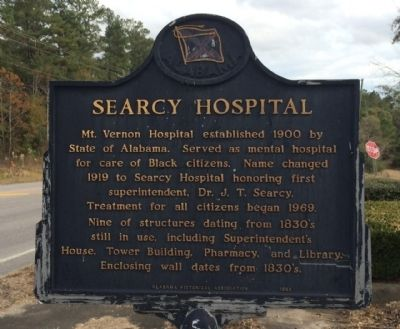Searcy Hospital Marker image. Click for full size.