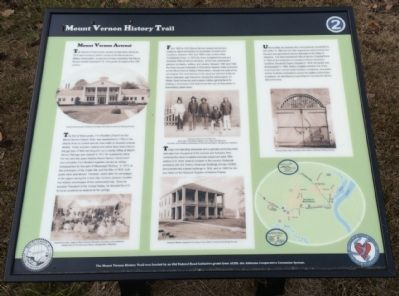 Mount Vernon Arsenal Interpretive Sign image. Click for full size.