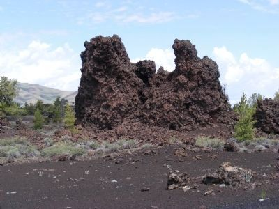 Lava on the Devil's Orchard Trail image. Click for full size.