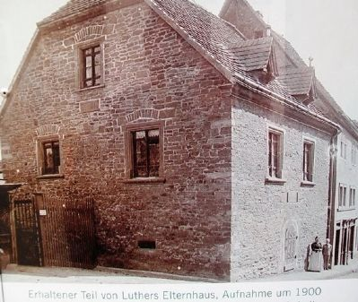 Photo of Luther House on Marker image. Click for full size.