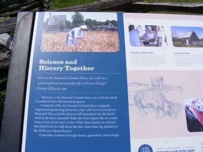 Science and History Together Marker image. Click for full size.