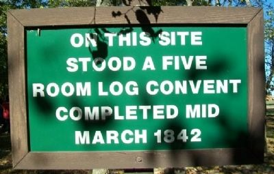 Log Convent Marker image. Click for full size.