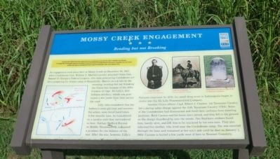 Mossy Creek Engagement Marker image. Click for full size.