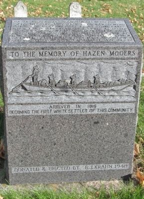 To the Memory of Hazen Mooers Marker image. Click for full size.